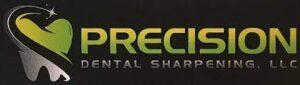 precision dental sharpening logo
