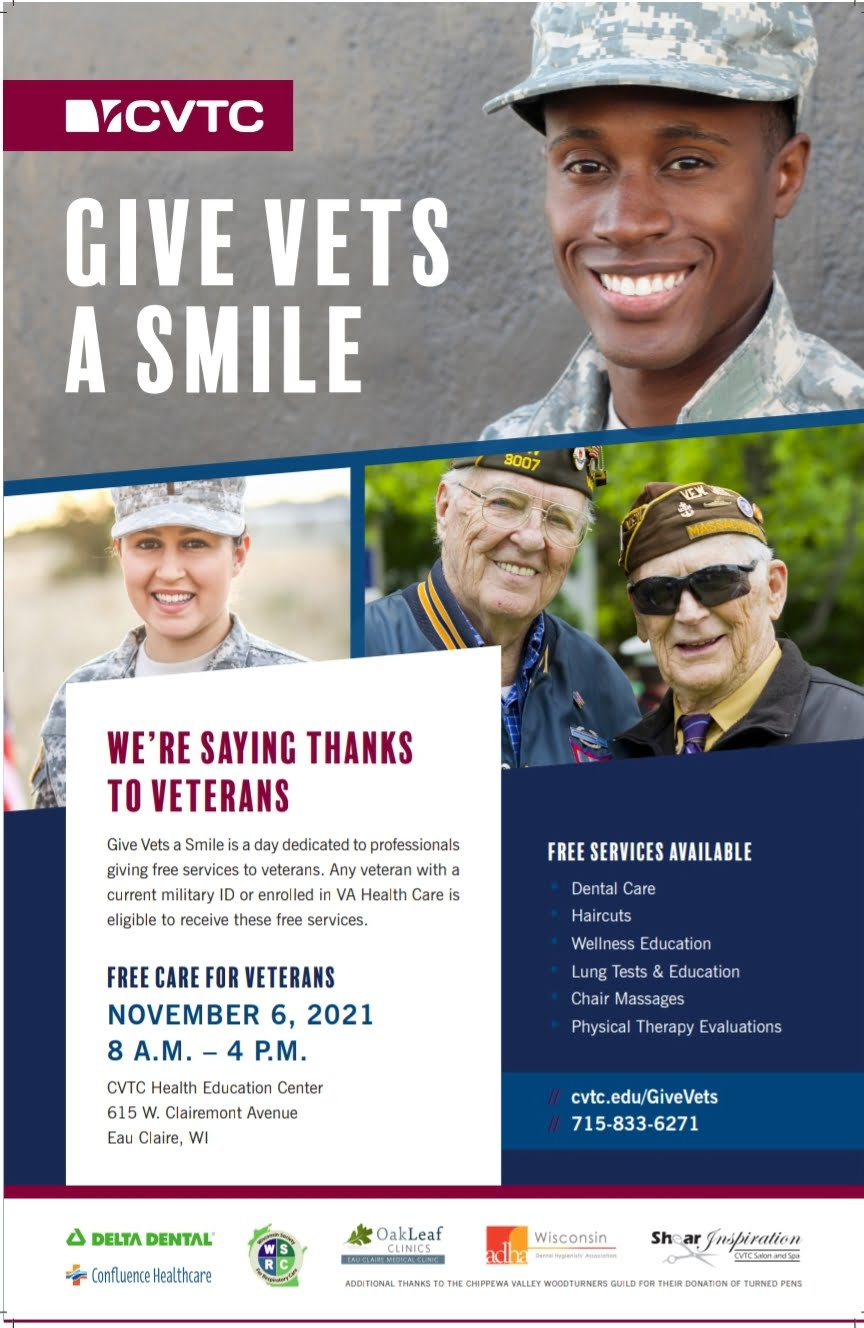 Give Vet's A Smile 1