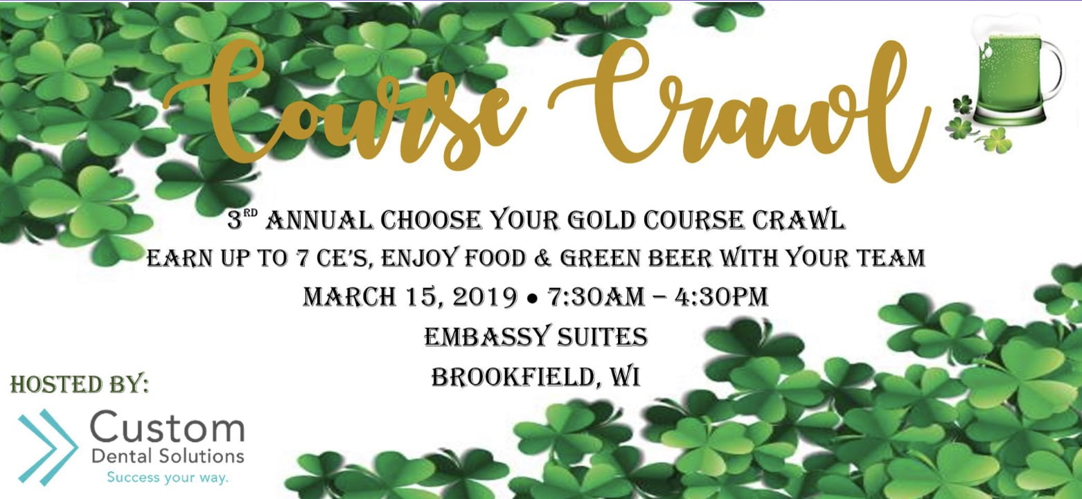 3rd Annual Choose Your Gold Course Crawl 1