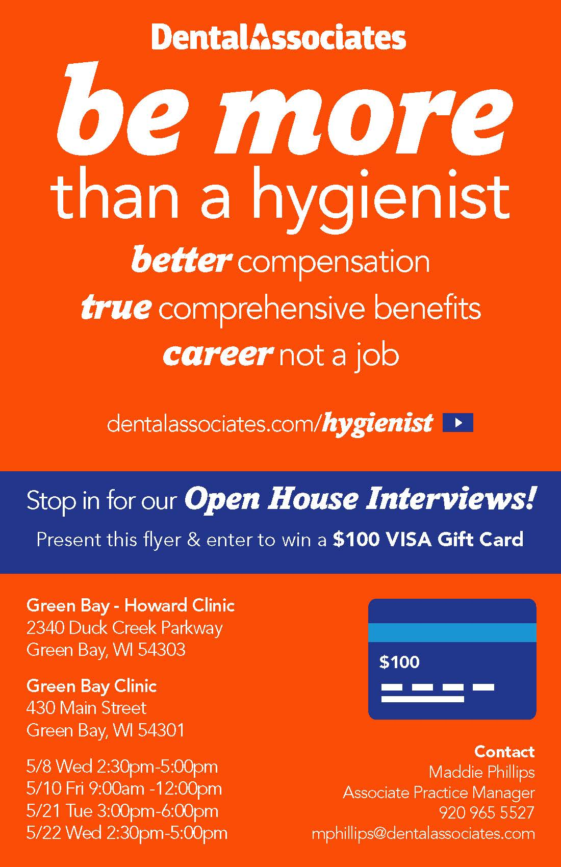 Hygiene Careers Open House 1