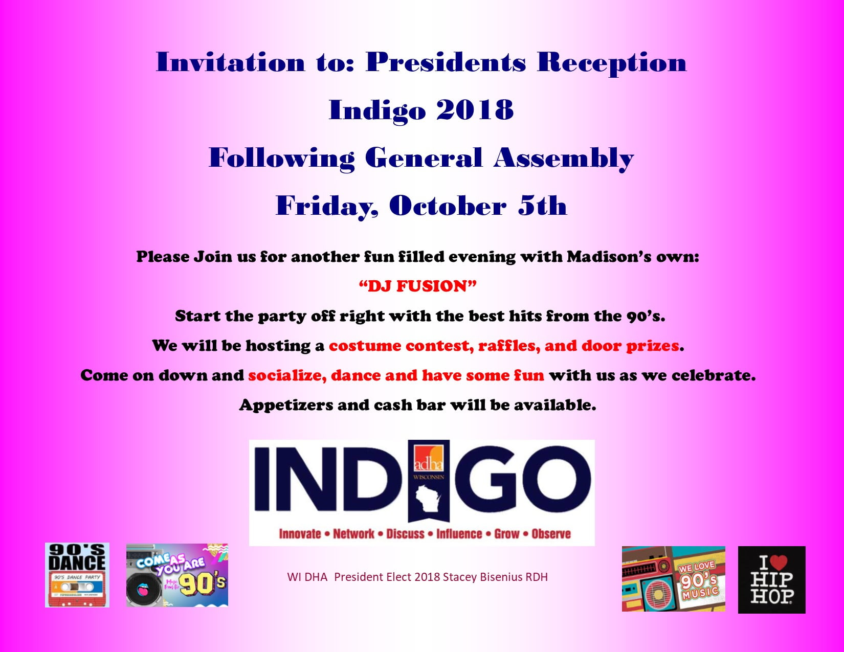 Indigo President's Reception 1